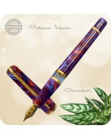 RLG Potomac Inkview Fountain Pen - Corundum Flexigran
