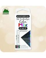12pc Fountain Pen Ink Cartridges Monteverde ITF - Universal Standard Size - Mix