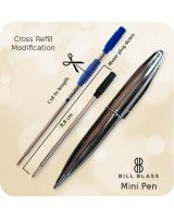 Bill Blass Mini Ballpoint Pen Refill, Cross Modification