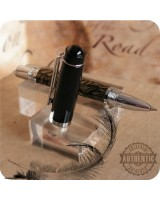Little Chicago Mini Rollerball Pen Handmade - M3 Metal, Chrome