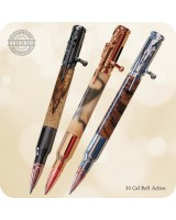 30 Cal Bolt Action Ballpoint Pen, Parker - Custom Handcrafted