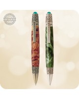 Celtic Irish Ballpoint Twist Pen - Custom Handmade