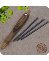 Mini Sketch Clutch Pencil, 3mm Lead - Custom Handcrafted