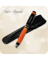 Classic Streamline Rollerball Pen, Orange Crush & Black Acrylics