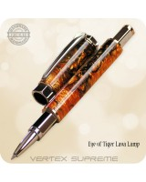 Vertex Supreme Magnetic Cap Rollerball Pen - Custom Handcrafted