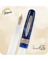 Stipula Israel 65 LE Fountain Pen of Peace, 14K Gold Nib ST60005