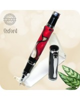 Oxford Rollerball Pen, Fire & Ice Acrylic Handcrafted