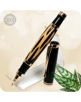 Oxford Rollerball Pen, Cholla Cactus Handcrafted