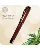 Atrax Fountain Pen Handmade - Africa Padauk Wood