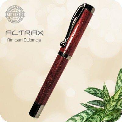 Altrax Fountain Pen - Wood, Acrylic, Antler, Tru-Stone, Metal +