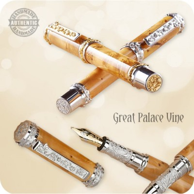 Great Palace Vine Fountain Pen - Luxury Edition