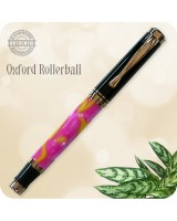 Oxford Rollerball Pen, Taffy Swirl Acrylic Handcrafted