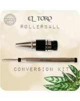 El Toro Fountain Pen to Rollerball Conversion Kit, Nib & Refill
