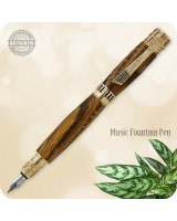 Music Fountain Pen - Custom Handmade