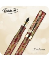 Conklin Endura Fountain Pen - Maroon Taupe CK71200