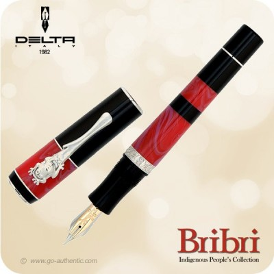 Bribri 2013 Limited Edition Fountain Pen - 977 pcs - DB84508 Rhodium