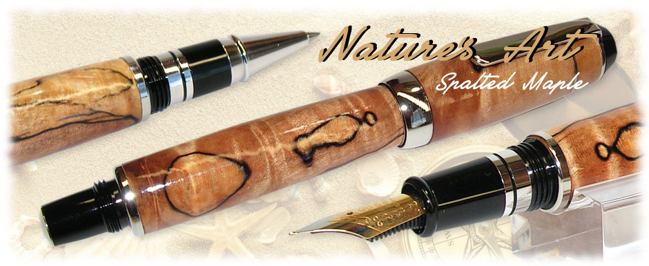 Spalted Maple Wood Pen