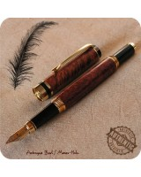 Flat Top Classic Fountain Pen - Custom Handmade