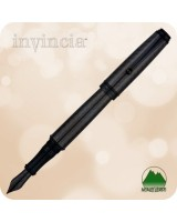 Monteverde Invincia Deluxe Fountain Pen - Carbon Fiber Black - MV41295