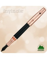 Monteverde Invincia Fountain Pen, Rose Gold - MV40060