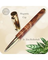 Wooden Pen Jr. Zen Rollerball handcrafted in Maple Burl Wood