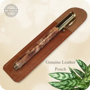 Handcrafted Jr. Zen Rollerball Pen for Ladies - Maple Burl Wood