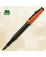 Monteverde Invincia Orange Anodized Fountain Pen - MV41510