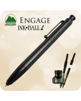 Monteverde Engage Ink·Ball, Black Carbon Fiber