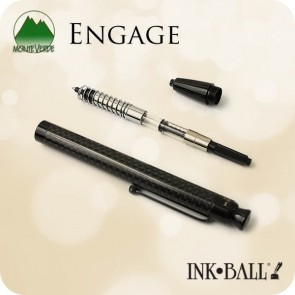 Monteverde Engage Ink·Ball Pen, Carbon Fiber MV35340