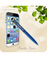 Poquito Touchscreen Phone Stylus Ballpoint Pen - Blue