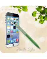 Poquito Touchscreen Phone Stylus Ballpoint Pen - Metallic Green
