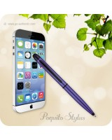 Poquito Touchscreen Phone Stylus Ballpoint Pen - Purple