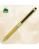 Quadro 4 in 1 Multi-Function Pen / Pencil [Brass MV35512]