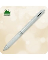 Quadro 4 in 1 Multi-Function Pen / Pencil [Chrome MV35511]