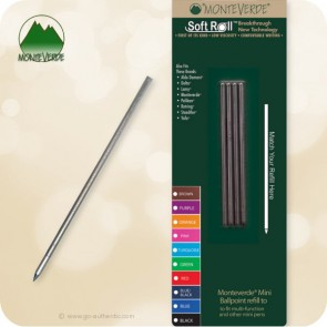 Monteverde Soft Roll D1 Mini Multi Ballpoint Refill D132 - Medium
