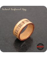 Bentwood Ring Handmade - 9mm Band - Size 8.5