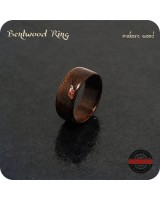 Bentwood Ring Handmade - 8mm Band - Size 8.5