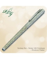 RLG Fantasy Pen - Parker 180 Prototype, Rhodium Plated