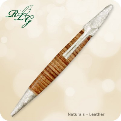 RLG Fantasy Pen - Naturals Leather Twist Ballpoint