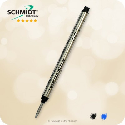 SCHMIDT Cap-less System 8127 Rollerball Refill, Medium - Long
