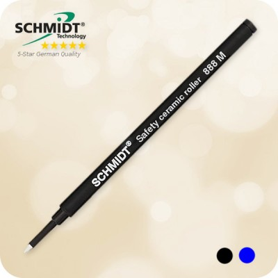 Schmidt 888 M Safety Ceramic Rollerball Refill Germany, Medium SRC888