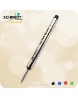 SCHMIDT Cap-less System P8126 Short Roller Refill - Fine Point