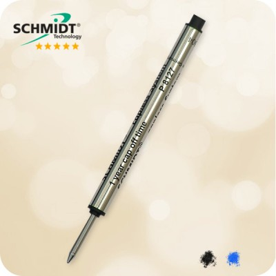 Schmidt Capless System P8127 Short Roller Refill, Medium Point