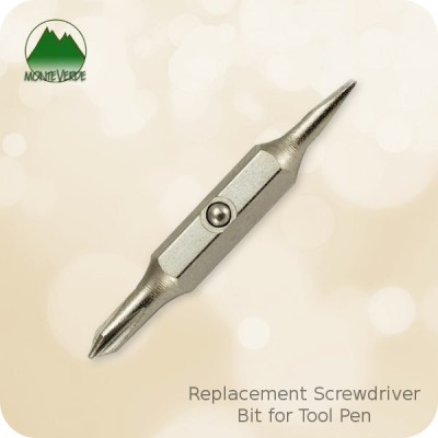 Monteverde Tool Pen Replacement Screwdriver Bit