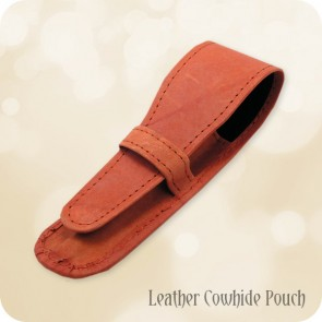 Premium Leather Pen Pouch for Small to Medium Sized Pens