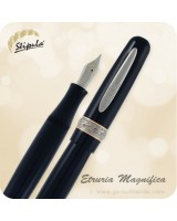 Stipula Etruria Magnifica Fountain Pen, Black - ST60022