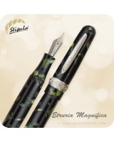Stipula Etruria Magnifica LE Fountain Pen, Green - ST60012