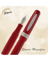 Stipula Etruria Magnifica Fountain Pen, Red - ST60014