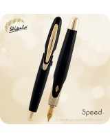 Stipula Speed Fountain Pen, Black - ST60040