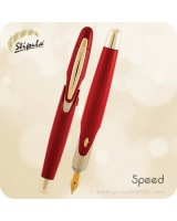 Stipula Speed Fountain Pen, Red - ST60042